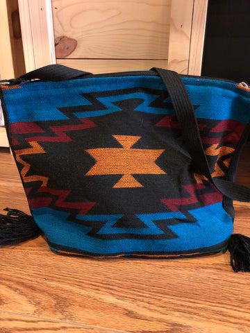 Purse - Tribal Print Woven