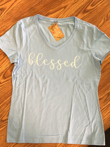 Women's Fit Blessed Tee