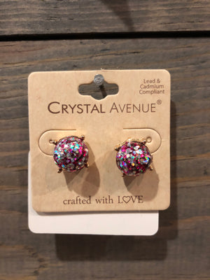 Earrings - Sparkle Stud