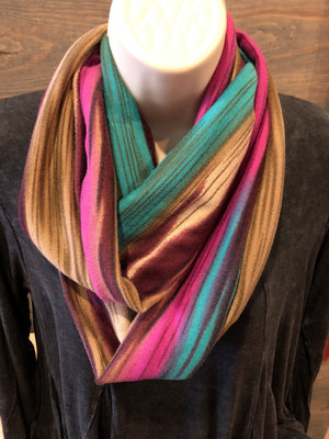 Scarf - Crazy train infinity scarves