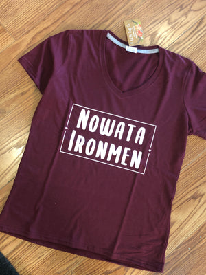 Nowata Ironmen Tee Women's Fit