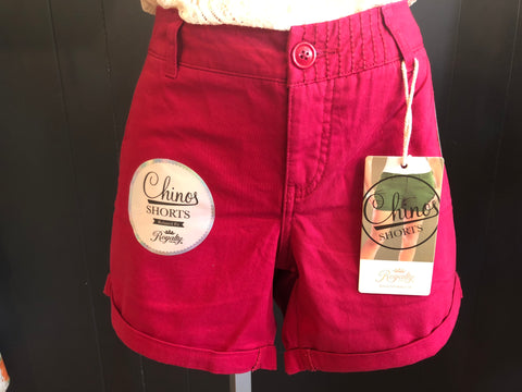 Royalty Chino Shorts - Relaxed Fit Teaberry