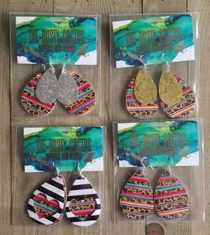 Serape Earrings by The Dusty Cactus