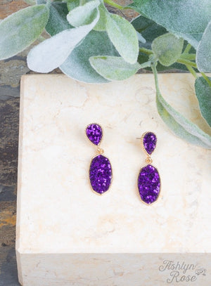 Sparkling and Sweet Drop Earrings