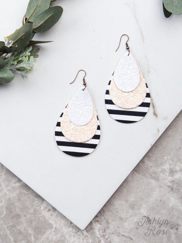 Be Bold Striped Earrings