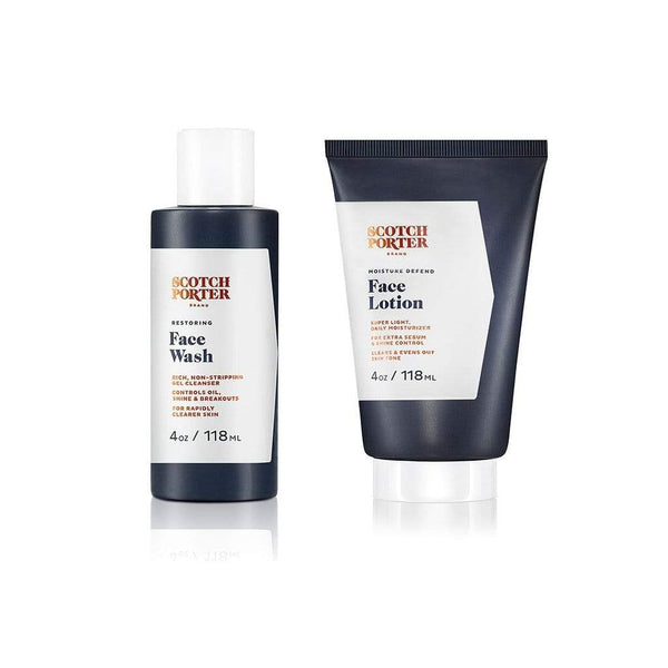 Scotch Porter Men's Product DAILY FACE CARE BUNDLE