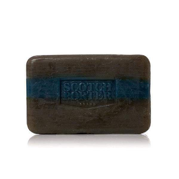 Scotch Porter Vibrant blend of lush greens and zesty herbs to open your mind and refresh your body. The fresh aromatic notes come together seamlessly with a woody base to jump start your day. Scotch Porter - Mineral & Botanical Enriched Refreshing Body Bar