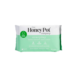 The Honey Pot Co. Feminine Wellness Herbal-Infused Pantiliners