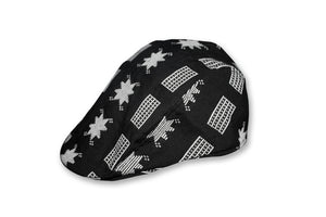 Hat Black White