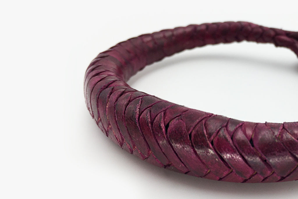 Bracelet Leather Bordeaux