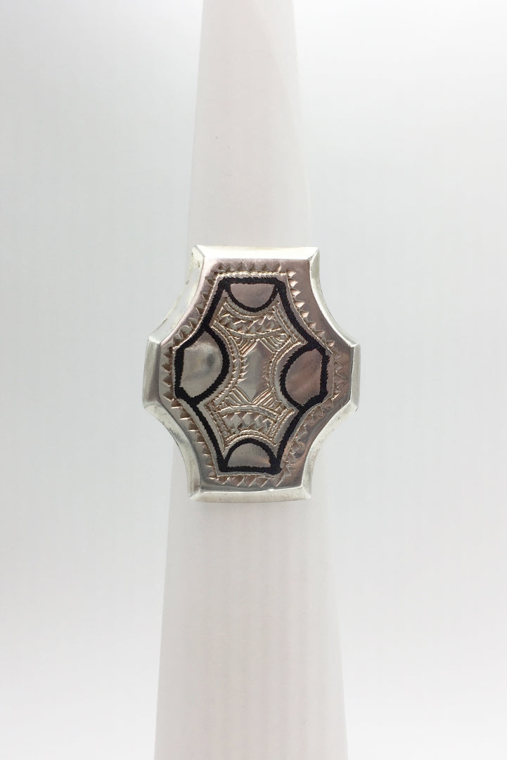 Ring Silver Cross