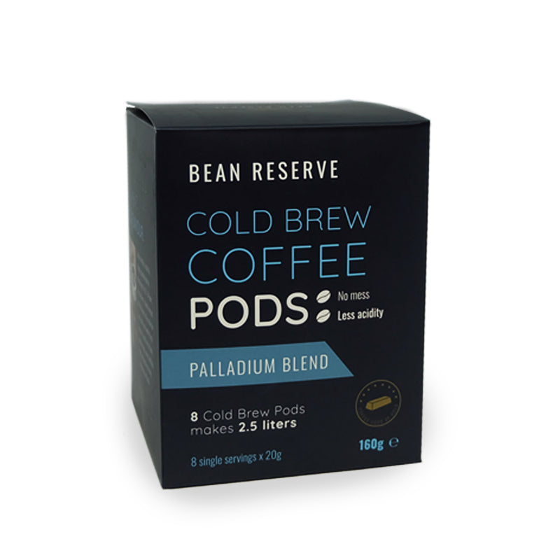 Cold Brew Coffee Pods | Palladium Blend (8 Pods)