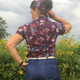 50's BLUSE | JETTE - Schwalbenliebe Vintage Clothing & Rock'N'Roll