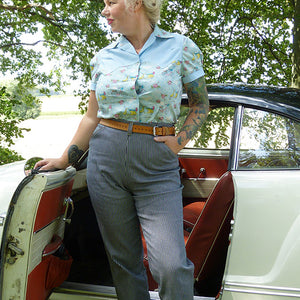 50s's Highwaisthose | Trudi - Schwalbenliebe Vintage Clothing & Rock'N'Roll