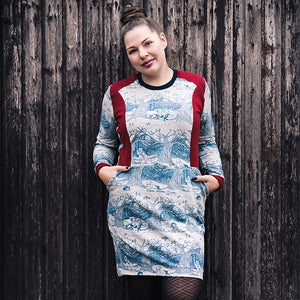 Kleid | HILDUR / Damen 32-58 - Schwalbenliebe Vintage Clothing & Rock'N'Roll