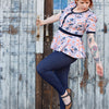 Bundle | Jeggings 'Liv' & Shirt 'Funkenflug - Schwalbenliebe Vintage Clothing & Rock'N'Roll