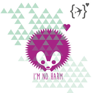 Plotterdatei | 'I AM NO HARM' - Schwalbenliebe Vintage Clothing & Rock'N'Roll