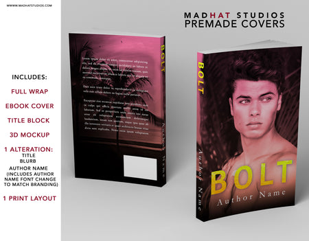 Premade Cover: Bolt