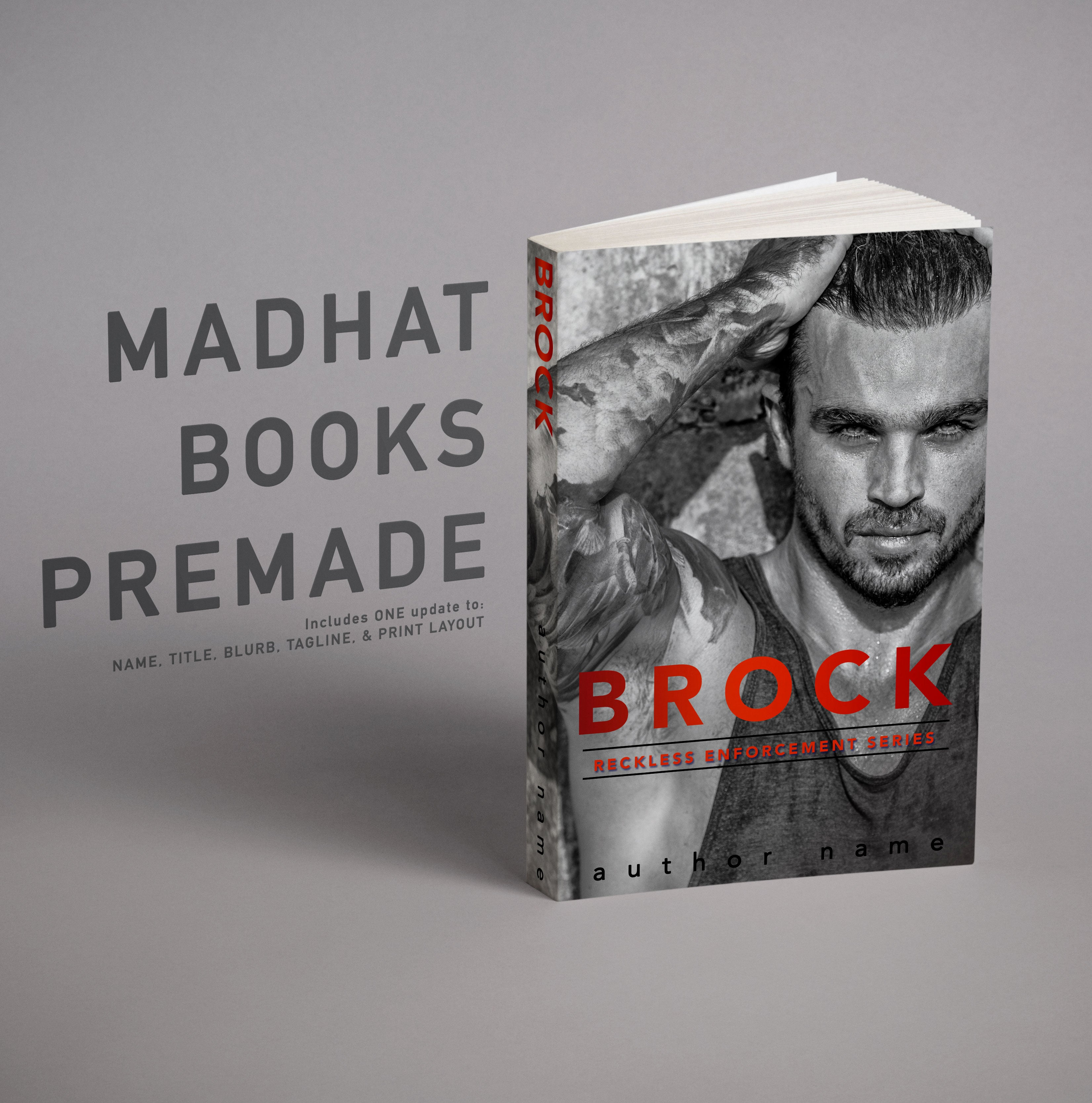 Premade Cover: Brock