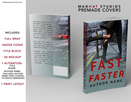 Premade Cover: Fast Faster