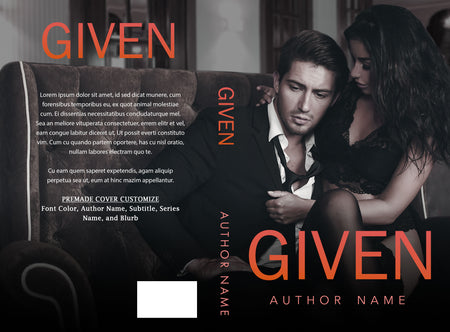 Premade Cover: Given