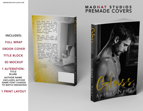 Premade Cover: Glass