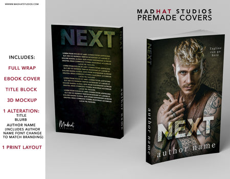 Premade Cover: Next