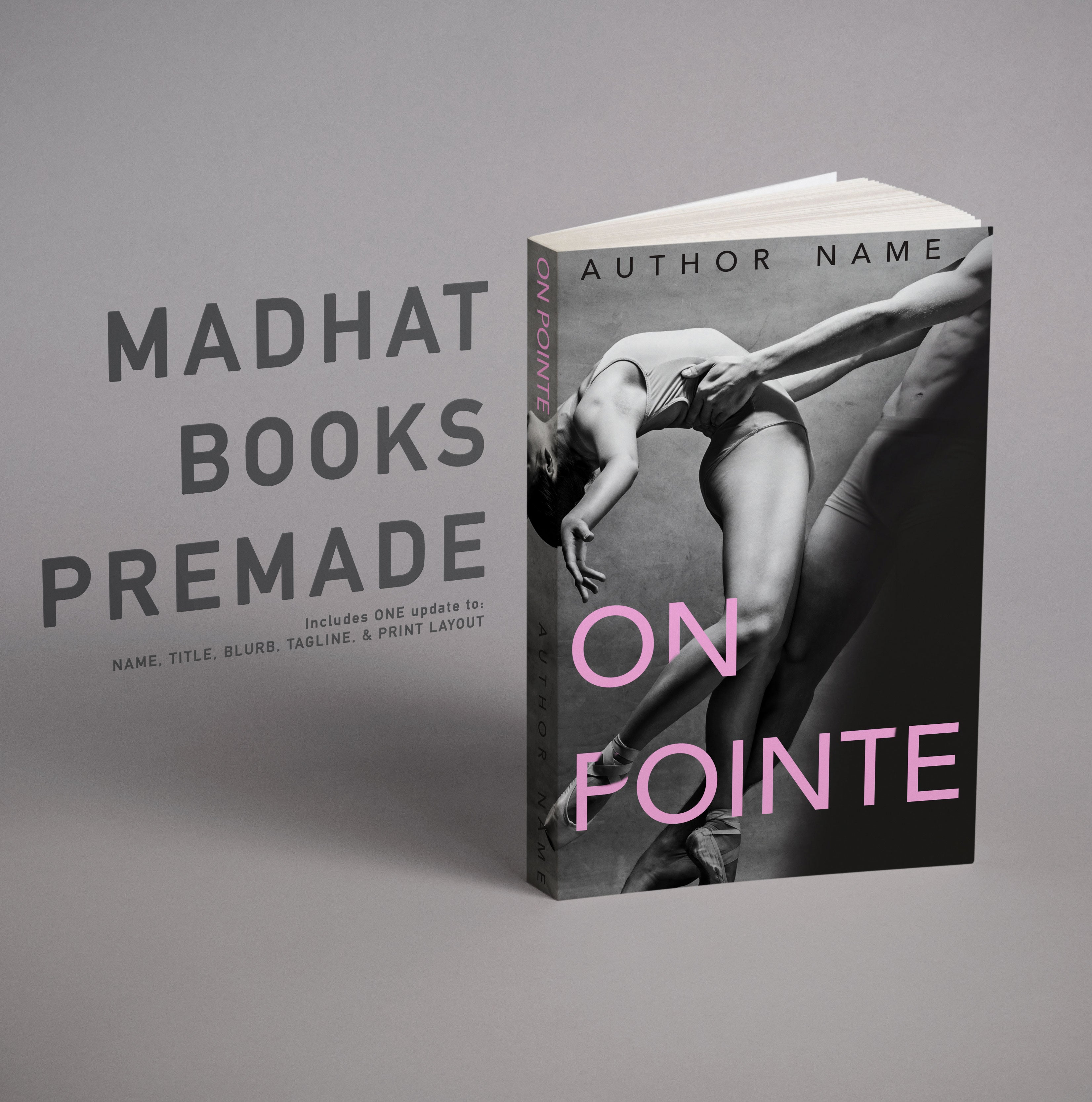 Premade Cover: On Pointe