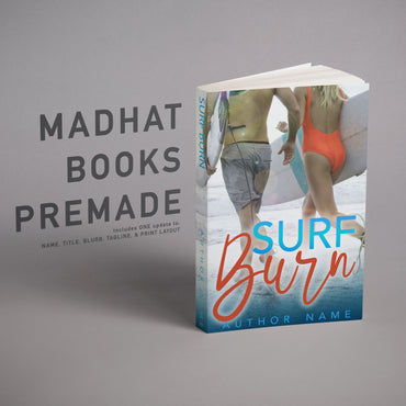Premade Cover: Surf Burn