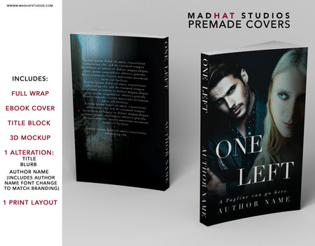 Premade Cover: One Left
