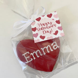 Personalized Heart Cookie