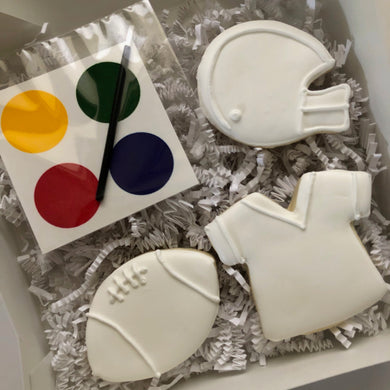 Football Paint Your Own Cookies Kit