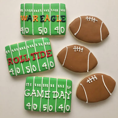 Personalized Football 1/2 Dozen