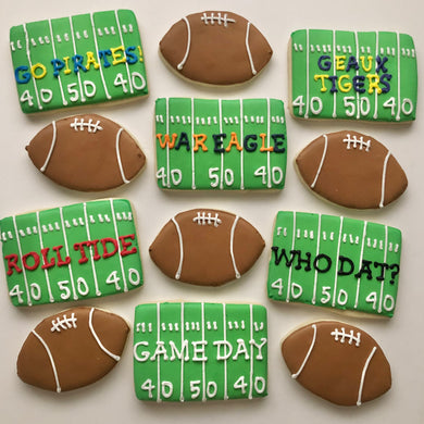 Personalized Football Dozen