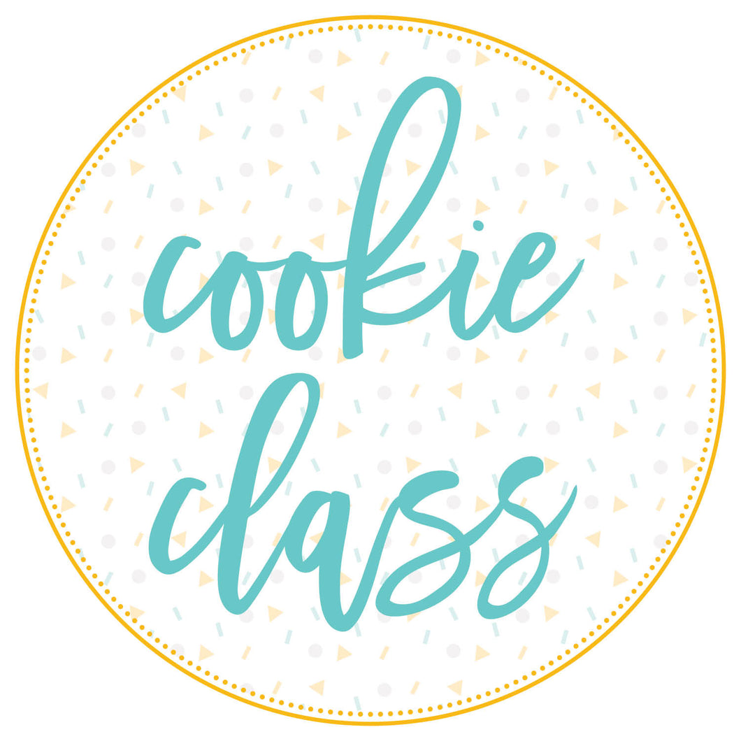 Cocktail Themed Cookie Class Friday 4/23 6pm