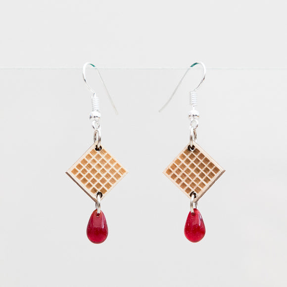 Earrings REDWAFFLE
