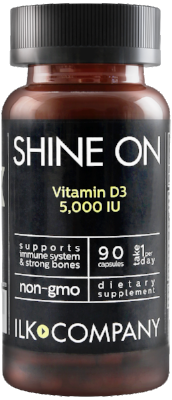 SHINE ON - Vitamin D3 5,000 IU
