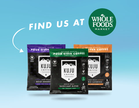 Kuju Coffee Now Available at Whole Foods Market