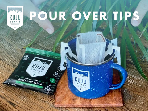 Pour Over Tips - Tip #1: Fold Anchors Back