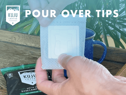 Pour Over Tips - Tip #2: Tear Open Filter