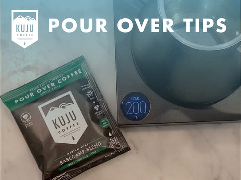 Pour Over Tips - Tip #3: Use ~200°F Water