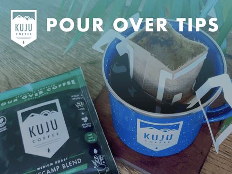 Pour Over Tips - Tip #4: Let the Filter Steep