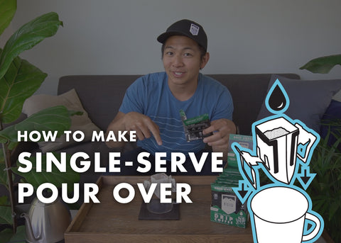 How to Make Single-Serve Pour Over Coffee (Video)