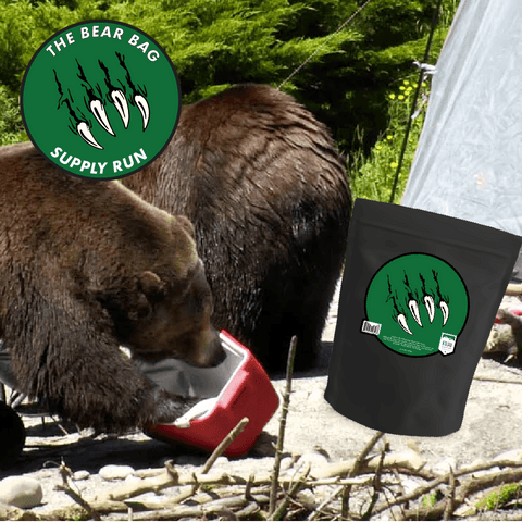 Kuju Coffee Bear Bag Supply Run