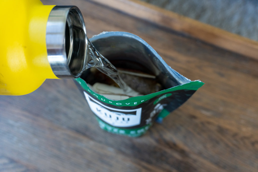 how to make cold brew coffee anywhere fill 5pack with water