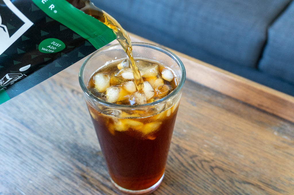 how to make cold brew coffee anywhere mix concentrate with water