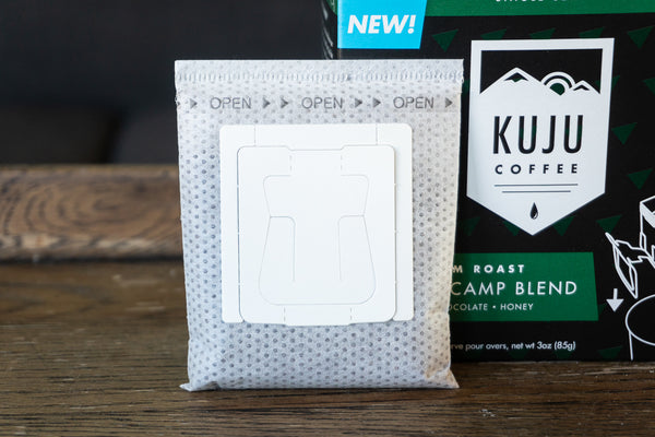 kuju coffee anatomy of single serve pour over coffee filter