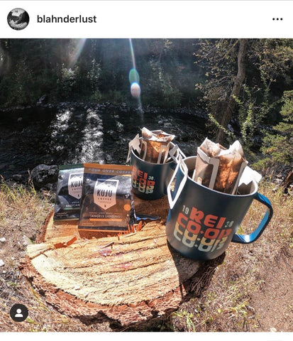 Fall Camping Kuju Coffee