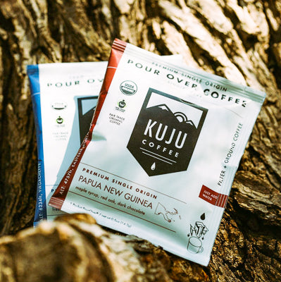 pour over coffee pouches