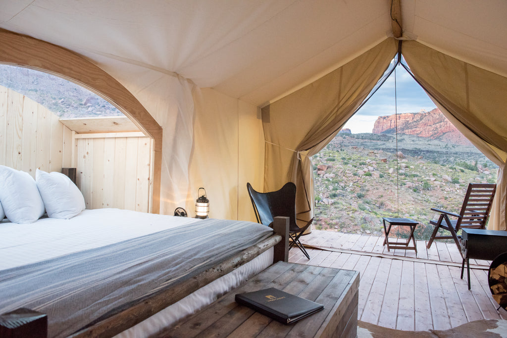 under canvas grand canyon valle arizona glamping